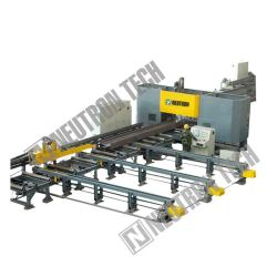 Perforatrice ad alta velocità CNC, perforatrice a travi, perforatrice a carburo, tridimensionata, perforatrice a struttura in acciaio per travi 1206