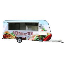 Frigorifero Van del camion dell'alimento del congelatore di consegna dei frutti di mare per lo standard europeo
