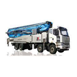 63m de hauteur de transport de la pompe à béton montés sur camion mélangeur Jhz5447thb-63