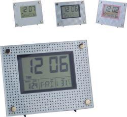 2020의 전자 달력 책상 시계 자명종