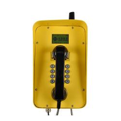 Solar público de la torre de telefonía inalámbrica GSM de teléfono de emergencia exterior
