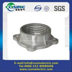 Flasque en aluminium pour la post-montage isolant/bride forgés/raccord de l'isolant en céramique