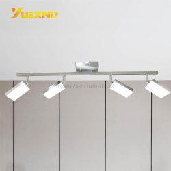 Satin-Nickel-kundenspezifische Farbe PFEILER Metalldecken-Spur-Punkt-Licht-Beleuchtung der China-Fabrik-Großverkauf-Produkt-Lampen-Haus-Fantasie-5W 10W 20W 240V 220V