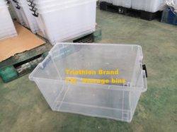 Norma Europa Eco-Friendly Home lucência dentro de compartimentos de armazenamento de PP Box 75 L