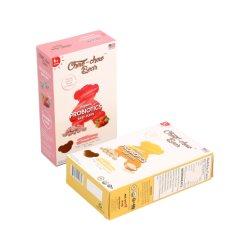 Fabricante barato impressão personalizada de Chocolate Papel Snack Biscuit Cookies Pão Papinhas de carnes congeladas e produtos de Saúde de embalagem dos alimentos caixa de papelão