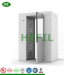 Sistema di induzione automatico doccia ad aria singola in acciaio inox camera pulita
