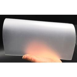 Folha de PVC transparente de Apagar Matt Anti-Reflective filme de PVC para cartões