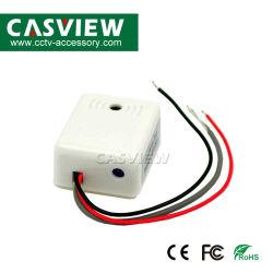 التقاط الصوت القابل للضبط على الحائط، مدى مراقبة الصوت: ميكروفون Fidelity Picker بحجم 5 إلى 100 متر مربع لكاميرا أمان CCTV