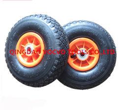 3.00-4 외바퀴 손수레 정원 손수레 손수레를 위한 압축 공기를 넣은 바퀴