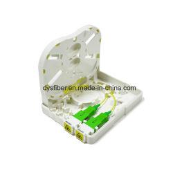 FTTH 2Panneau de paroi de la plaque de base Case de l'épissure Mini boîte à bornes