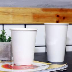 Imprimés de qualité alimentaire personnalisé en papier jetables pour l'eau de la Coupe du café