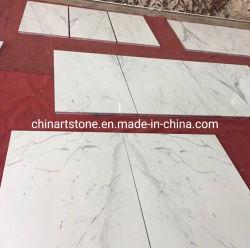 China mosaico de mármol blanco con Alumimun honey comb