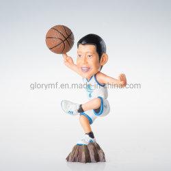 Jogador de Basquete Figura série anime japonês uniforme preto e branco Modelo Coleccionáveis Kid Caixa de brinquedos em