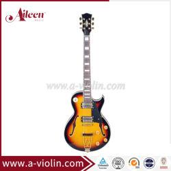 [Aileen] Vue en coupe de corps creux solide guitare jazz électrique (EGJ260)