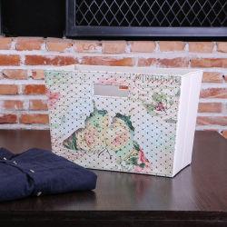 Tapicería de cuero Custom-Made Cesta cesta de regalo, cesta de la mano
