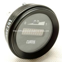 24V Curtis 906 R del medidor de descarga de batería Indicador de combustible
