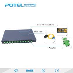 광섬유 PLC 쪼개는 도구 2.0mm 케이블과 Sc/APC PC Upc 연결관