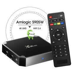 Android Smart TV Box X96 Mini avec Amlogic S905W 1 Go de RAM 8 Go de mémoire ROM Android 7.1.2 TV Box X96 Android TV Box Set Top Box