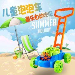 De nouveaux jouets d'été lumineux fonctionne sur batterie Bubble jouets main voiture Push H1609904