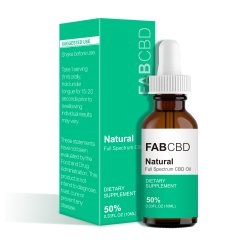 50% sabor natural 10ml de extracto de Fab Cdb puro óleo pode aliviar a dor do Sono Anti-Anxiety efetivamente Cdb Óleo de cânhamo