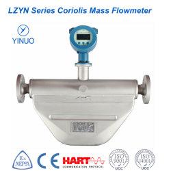 Coriolis Micro-Bend de alta precisão do medidor de fluxo de massa (LZYN)