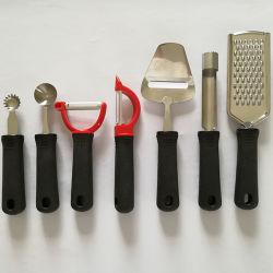 Insieme di plastica del dispositivo della cucina dell'acciaio inossidabile della maniglia piccolo