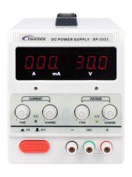 Laboratorio de canal único de bajo coste de alimentación DC de conmutación ajustable de 30V 3A Twintex Sp-3003