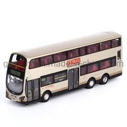 Model van de Bus van de Muur van het Metaal van Plasic van de douane het Dubbele