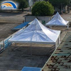 10X10 de grote Transparante Tenten van de Markttent van de Pagode met Decoratie voor OpenluchtGebeurtenissen