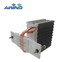 La prensa de montaje de aletas con cremallera Enfriador de CPU con tubo de calor para el disipador de calor
