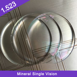 Acabados de alta calidad al por mayor Cr-39 1.499 Hmc Mineral sola visión Óptica
