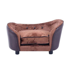 أحدث تصميم أريكة سرير من جلد الأليف أريكة