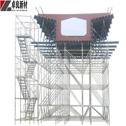Layer Alltre Type Scaffolding Ringlock Stair Tower Ringlock Stacking Tower
