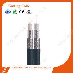 RG6 Rg59 Rg11-Kabel für CCTV (CE, RoHS, CPR), doppeltes Koaxialkabel