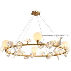 Kronleuchter Lampe Dekoratives Licht Gold Kronleuchter LED moderner Kronleuchter