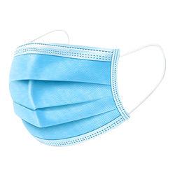 新製品の使い捨て可能なEarloop青い保護ファブリックマスク