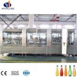 2020 auto suco de frutas chá a linha de enchimento a quente sem Bebidas Carbonatadas máquina de enchimento de garrafas de vidro para sucos frescos suco NFC máquina de enchimento de 100 por cento juicer