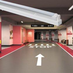 قاعدة مكواة خفيفة ثلاثية مقاومة للضوء LED بطول 1,2 م مع أنبوب LED أحادي إضاءة LED للضوء الخارجي للأنبوب الفاتح أو الفلورسنت