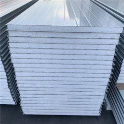 容易なインストールによって絶縁されるEPSサンドイッチ金属の屋根瓦または壁パネル