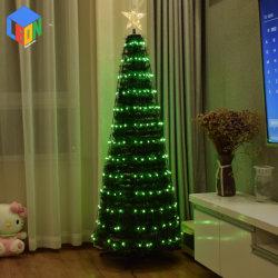 Weihnachtshaus und Garten Dekoration RGB Neon Zeichen LED-Streifen Light Fernbedienung Weihnachtsbaum Licht