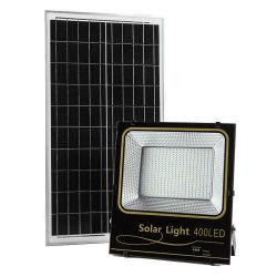200W солнечной Прожекторы открытый пульт дистанционного управления LED ПРОЖЕКТОРЫ IP66 водонепроницаемый автоматическое включение световой датчик солнечного индикаторы питания