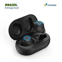 PERSONALISEER de T100 TWS 5.0 draadloze Bluetooth-headset met oplaadetui Voor telefoonaccessoires (lokale bezorging voor Brazilië)