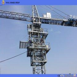 16ton, 70m de ponta de lança, 3.0Ton, Qtz7030 Self-Rising grua-torre