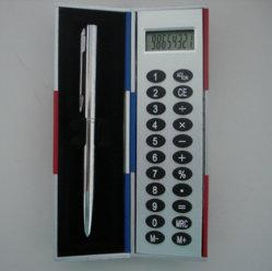 De Doos van de Calculator van de zwarte kunst met de Pen Jt590 van het Metaal