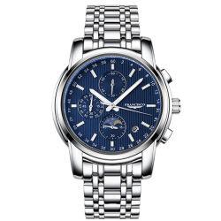 Quarz-Armbanduhr-Mann-Luxuxchronograph-Uhr China-GroßhandelsFrancisco