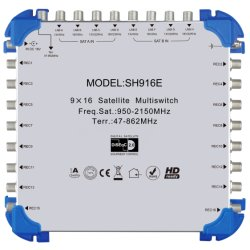 Sh916 デジタル衛星受信機衛星装置 Multischwith の販売のため
