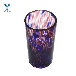 La decoración del hogar perfumado de portavelas de vidrio de soja
