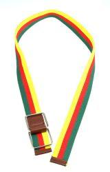 حزام رياضي مطاطي أنيق متعدد الألوان من النايلون، متوفر بألوان مختلفة