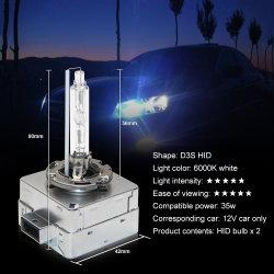 隠された球根35Wのキセノンのヘッドライト6000K車の置換ランプ