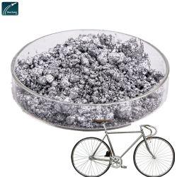 Helles und weißes Aluminium-Psät mit Metallic-Effekt für die Fahrzeuglackierung Farbe